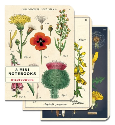 Wildflowers Mini Notebook Set