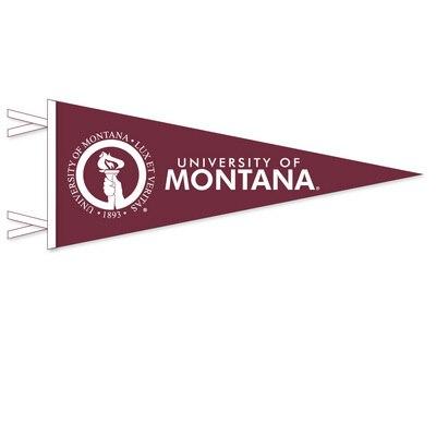 University of Montana 12x30 Felt Pennant