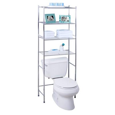 4 Tier Over the Toilet Storage Shelf