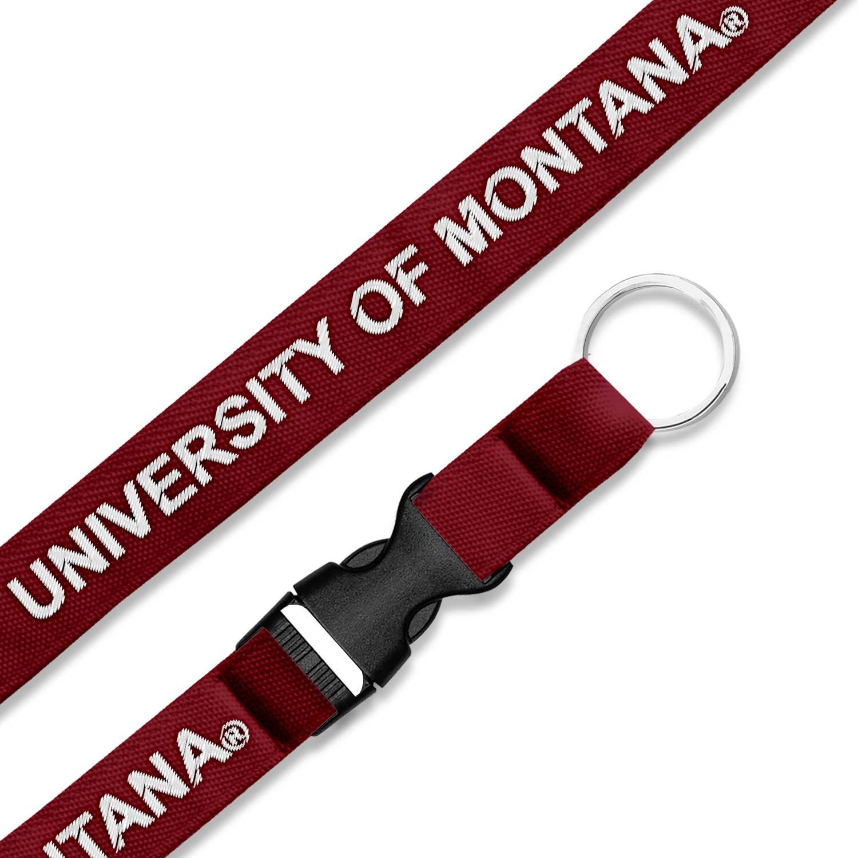 University of Montana 3/4 Woven Lanyard with Buckle