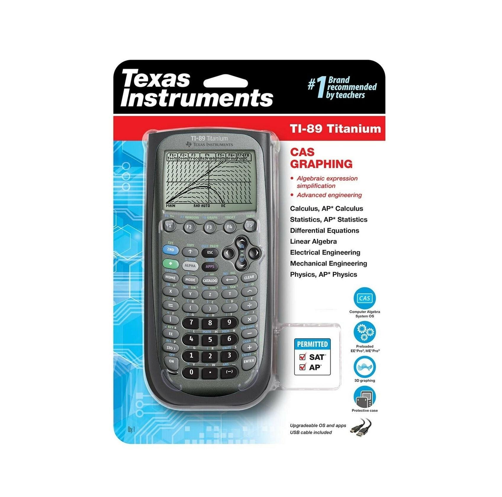 TI 89 Graphing Calculator