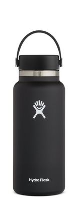 Hydro Flask 32 oz. Wide Mouth With Flex Cap Black 2.0