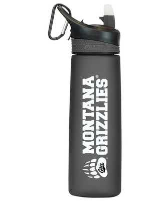 University of Montana 24 oz Frosted Water Bottle