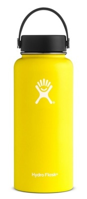 Hydro Flask 32oz. Wide Mouth With Flex LID  Lemon