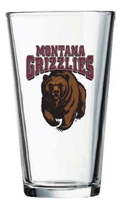 University of Montana 16oz Pint Glass
