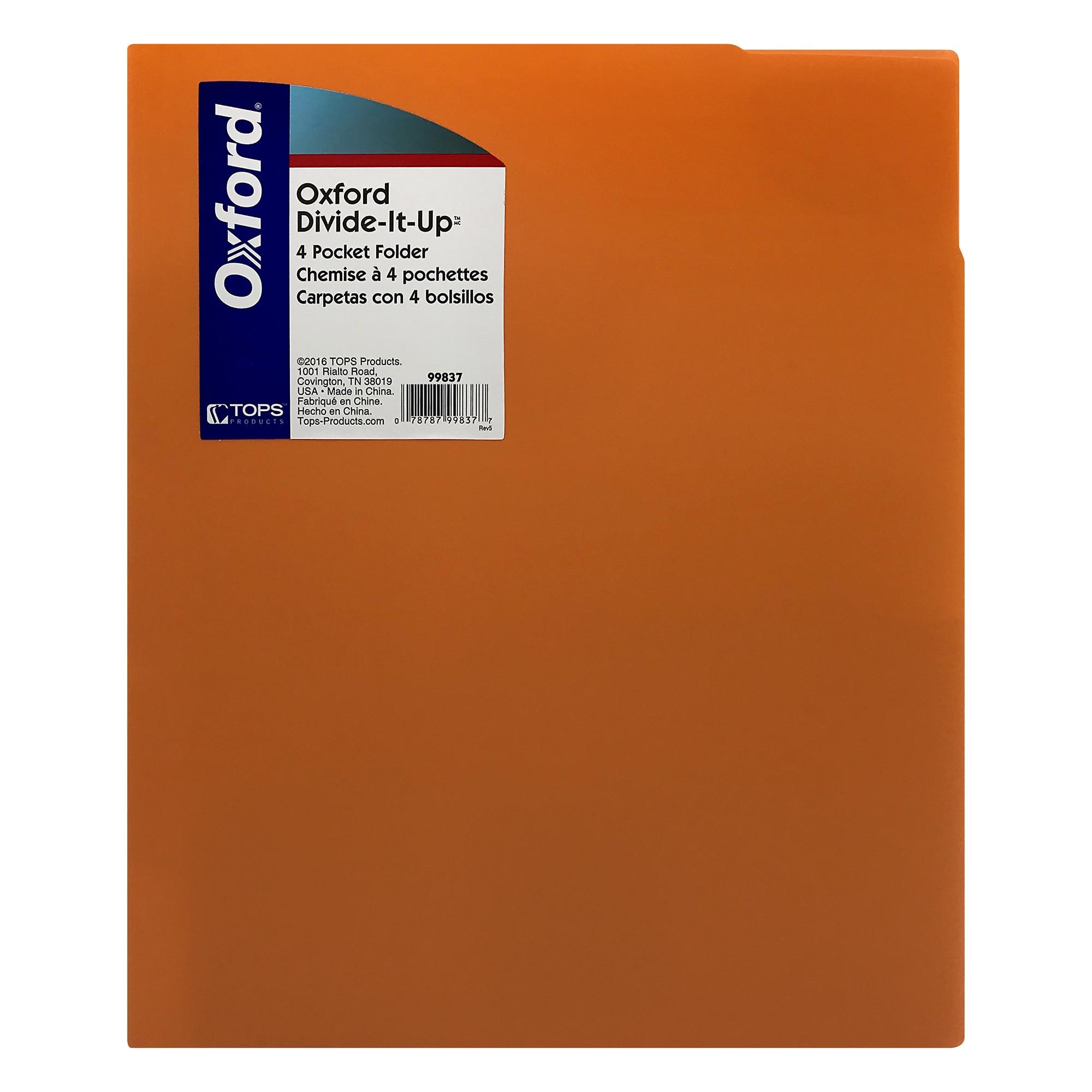 Poly (Divide It Up) Portfolio (Assorted Colors)