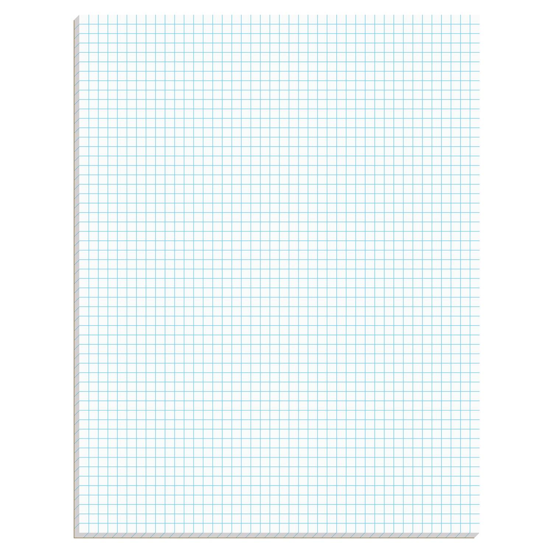 Ampad Graph Pad 812 X 11 Graph Rule (5 X 5) 50 Sheets
