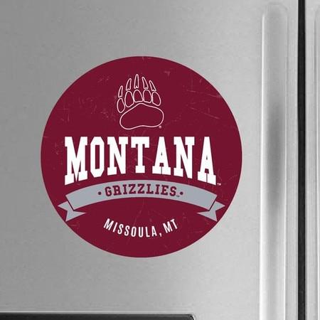 University of Montana Color Shock Magnet Button