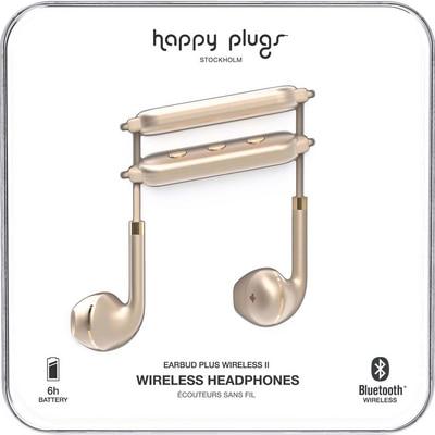Happy Plugs Matte Gold Bluetooth Earbud Plus