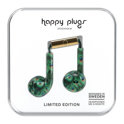 Happy Plugs Peacock Earbud Plus