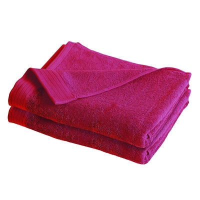 IZOD Everyday Red 4 Pack Bath Towels