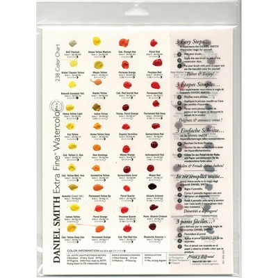 Daniel Smith Extra Fine Watercolor Dot Try-It Cards, 238 Colors