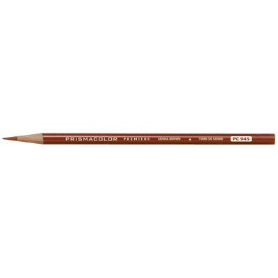 Prismacolor Premier Thick Core Colored Pencil, Sienna Brown