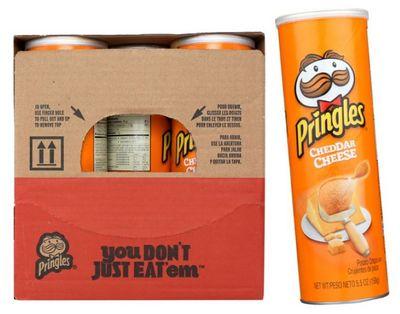 Pringles Cheddar Cheese  14/5.57oz