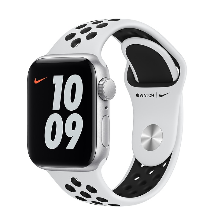 Apple Watch Nike SE 40 mm Silver AL Platinum/Black SB