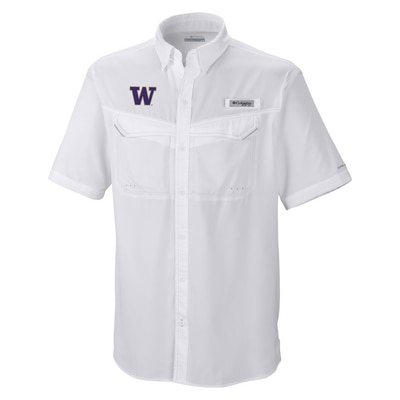 Washington Huskies Low Drag S/S Shirt
