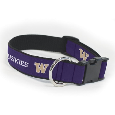 Washington Huskies Small Dog Collar