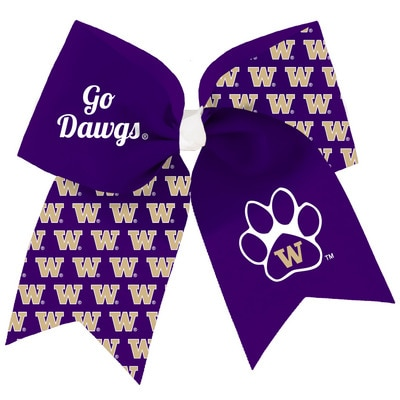 Washington Huskies Spirit Cheer Gear XL Big Bow