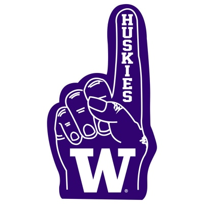 Washington Huskies Mini Foam Finger