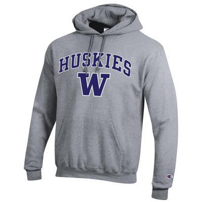 Washington Huskies Champion Powerblend  Pullover Hoodie