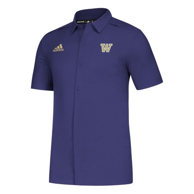 Adidas Men's Game Mode Full Button Polo