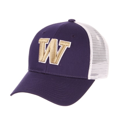 Washington Huskies Zephyr Big Rig Adjustable Trucker Cap Hat