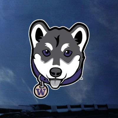 Washington Huskies Decal