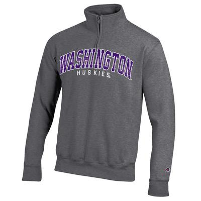 Washington Huskies Champion Quarter Zip Sweatshirt