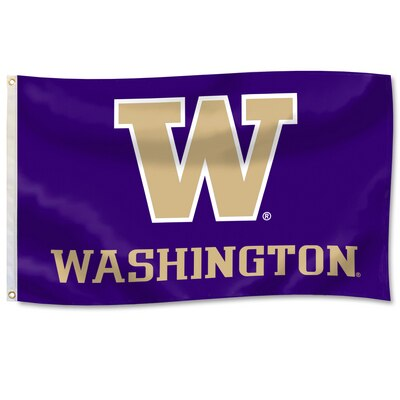 Washington Huskies 3'x5' Durawave Flag