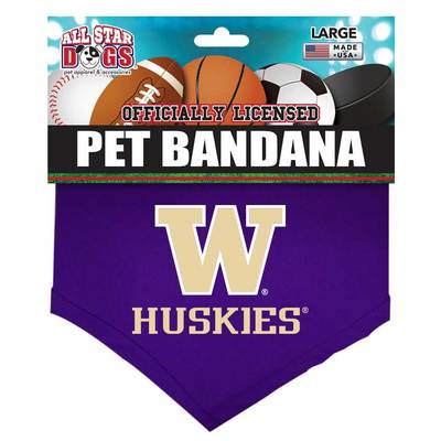Washington Huskies Pet Bandana