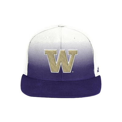 Washington Huskies Color Fade Flatbill Snapback Hat