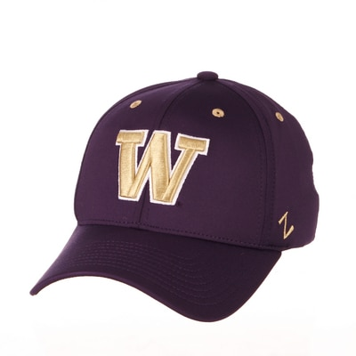 Washington Huskies Zephyr Structured Zfit Performance Cap Hat