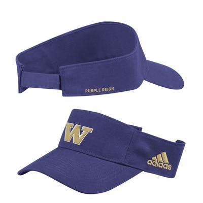 Washington Huskies Adidas Men's Coach High Visor