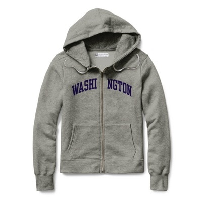 Washington Huskies  Classic Full Zip Hoodie