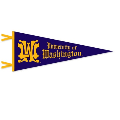 Washington Huskies 12x30 Pennant