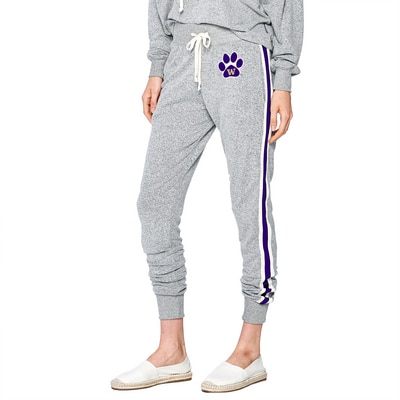 Washington Huskies Brushed Contrast Jogger