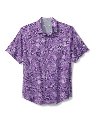 Washington Huskies Sport Tiki Luau S/S Shirt
