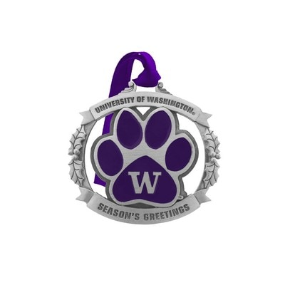 Washington Huskies Logo Ornament