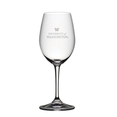 Washington Huskies Riedel Red Wine Glass