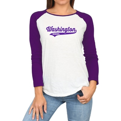 Washington Huskies Raglan L/S