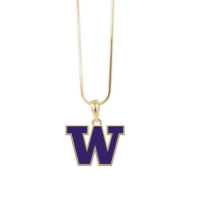 Washington Huskies Necklace Logo