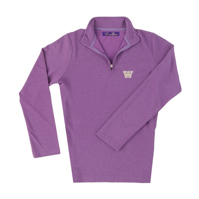 Washington Huskies Womens Loftec Quarter Zip