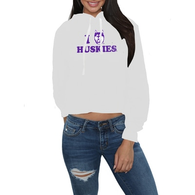 Washington Huskies Crop Hood