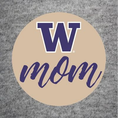 Washington Huskies Color Shock Bigtime Game Button