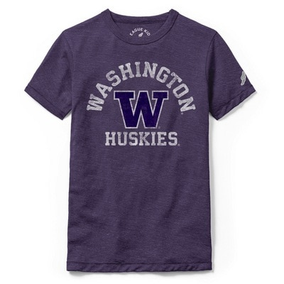 Washington Huskies League Youth Victory Falls Short Sleeve T-Shirt