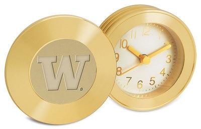 Washington Huskies Desk Clock