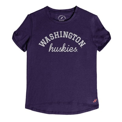Washington Huskies Open Sleeve Short Sleeve T-Shirt