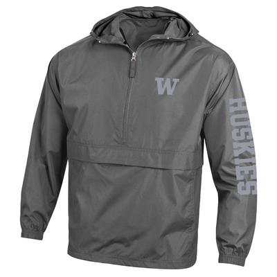 Washington Huskies Champion Half-Zip Packable Jacket