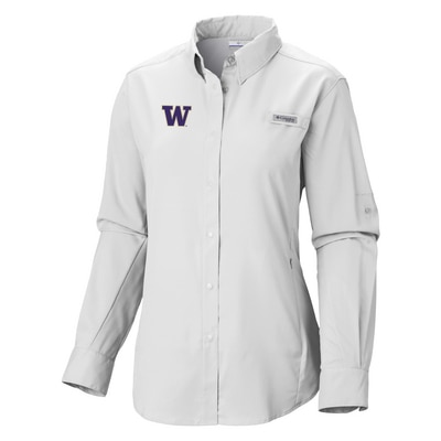 Washington Huskies Tamiami L/S Shirt
