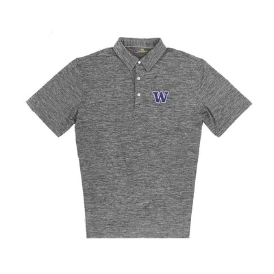 Washington Huskies Ecotec Peached Polo